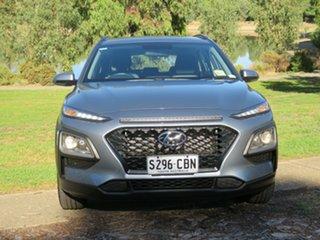 2019 Hyundai Kona OS.2 MY19 Active 2WD Lake Silver/dark Gre 6 Speed Sports Automatic Wagon.