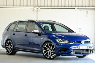 2018 Volkswagen Golf 7.5 MY19 R DSG 4MOTION Blue 7 Speed Sports Automatic Dual Clutch Wagon.