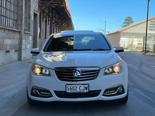 2014 Holden Calais VF MY15 V White 6 Speed Sports Automatic Sedan.