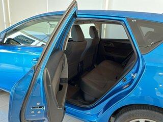 2017 Toyota Corolla ZWE186R Hybrid E-CVT Blue 1 Speed Constant Variable Hatchback Hybrid