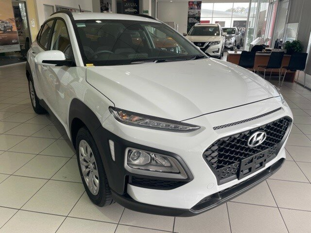 Used Hyundai Kona OS.3 MY20 Go 2WD Springwood, 2019 Hyundai Kona OS.3 MY20 Go 2WD Chalk White 6 Speed Sports Automatic Wagon