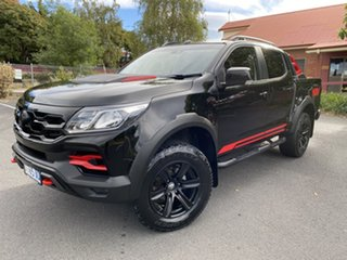 2018 Holden Special Vehicles Colorado RG MY19 SportsCat Pickup Crew Cab R Mineral Black 6 Speed