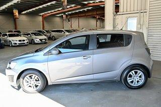 2012 Holden Barina TM MY13 CD Grey 5 Speed Manual Hatchback