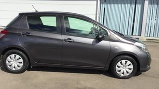 2011 Toyota Yaris NCP130R YR Grey 4 Speed Automatic Hatchback