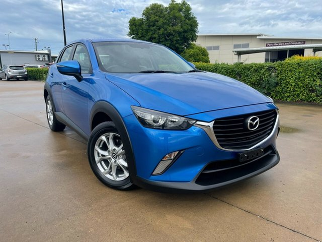 Used Mazda CX-3 DK2W7A Maxx SKYACTIV-Drive Townsville, 2015 Mazda CX-3 DK2W7A Maxx SKYACTIV-Drive Blue 6 Speed Sports Automatic Wagon