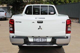 2020 Mitsubishi Triton MR MY21 GLX Double Cab White 6 Speed Sports Automatic Utility.