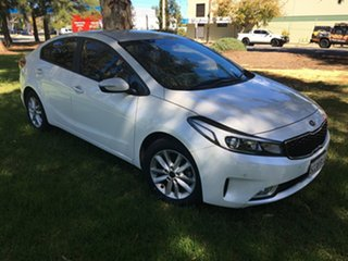 2017 Kia Cerato YD MY17 S Premium White 6 Speed Sports Automatic Sedan.