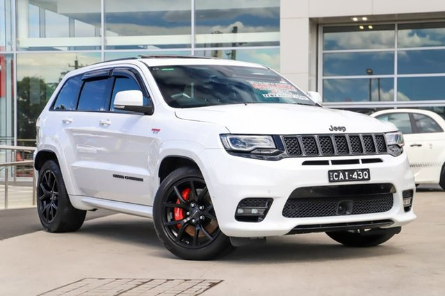 Used Jeep Grand Cherokee WK MY18 SRT Liverpool, 2018 Jeep Grand Cherokee WK MY18 SRT Ivory White 8 Speed Sports Automatic Wagon