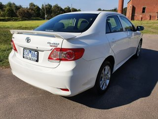 2012 Toyota Corolla ZRE152R Ascent Sport White Automatic Sedan