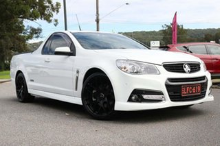 2015 Holden Ute VF MY15 SS V Ute White 6 Speed Manual Utility.