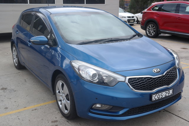 Used Kia Cerato YD MY14 S Maryville, 2013 Kia Cerato YD MY14 S Blue 6 Speed Manual Hatchback