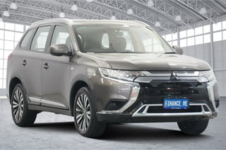 2019 Mitsubishi Outlander ZL MY19 ES 2WD Brown 6 Speed Constant Variable Wagon.