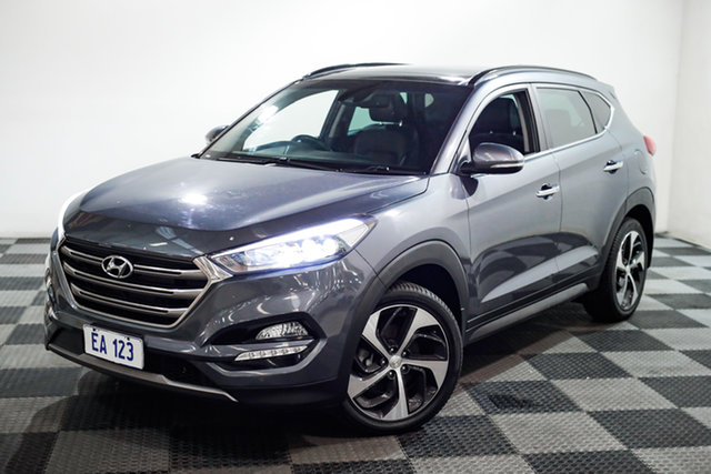 Used Hyundai Tucson TLE Highlander AWD Edgewater, 2016 Hyundai Tucson TLE Highlander AWD Grey 6 Speed Sports Automatic Wagon