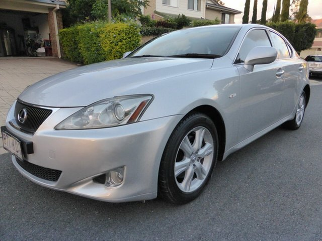 Used Lexus IS250 GSE20R Prestige Southport, 2007 Lexus IS250 GSE20R Prestige Silver 6 Speed Auto Sequential Sedan