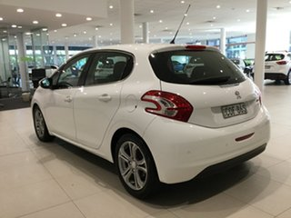 2012 Peugeot 208 A9 Allure White 4 Speed Automatic Hatchback