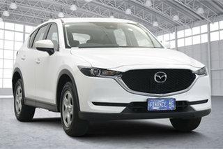 2018 Mazda CX-5 KF4WLA Maxx SKYACTIV-Drive i-ACTIV AWD White 6 Speed Sports Automatic Wagon.