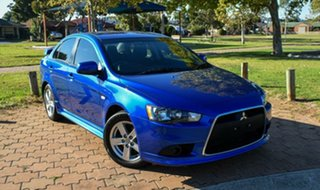 2014 Mitsubishi Lancer CJ MY14.5 ES Sport Blue 6 Speed Constant Variable Sedan.