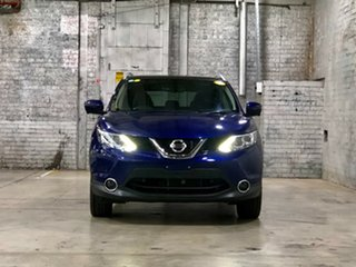 2017 Nissan Qashqai J11 TI Blue 1 Speed Constant Variable Wagon.