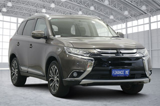 2017 Mitsubishi Outlander ZK MY18 LS AWD Ironbark 6 Speed Constant Variable Wagon.