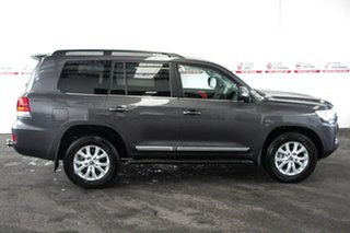 2020 Toyota Landcruiser VDJ200R Sahara Graphite 6 Speed Sports Automatic Wagon