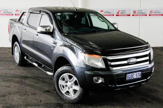 Pre-Owned Ford Ranger PX XLT 3.2 (4x4) Rockingham, 2015 Ford Ranger PX XLT 3.2 (4x4) Grey 6 Speed Automatic Double Cab Pick Up