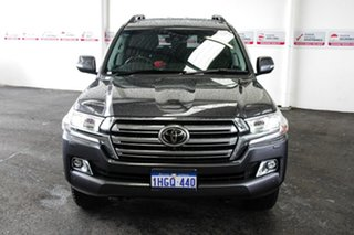 2020 Toyota Landcruiser VDJ200R Sahara Graphite 6 Speed Sports Automatic Wagon.