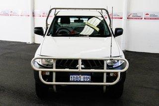 2009 Mitsubishi Triton ML MY09 GLX (4x4) 5 Speed Manual 4x4 Cab Chassis.
