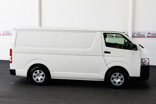 2014 Toyota HiAce TRH201R MY14 LWB French Vanilla 4 Speed Automatic Van