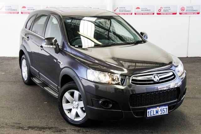 Pre-Owned Holden Captiva CG MY13 7 SX (FWD) Myaree, 2013 Holden Captiva CG MY13 7 SX (FWD) Grey 6 Speed Automatic Wagon