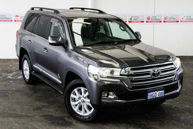 Pre-Owned Toyota Landcruiser VDJ200R Sahara Myaree, 2020 Toyota Landcruiser VDJ200R Sahara Graphite 6 Speed Sports Automatic Wagon