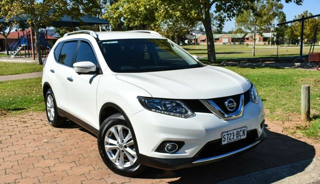 Used Nissan X-Trail T32 ST-L X-tronic 2WD Ingle Farm, 2014 Nissan X-Trail T32 ST-L X-tronic 2WD White 7 Speed Constant Variable Wagon