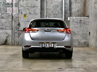 2018 Toyota Corolla ZRE182R Ascent S-CVT Silver 7 Speed Constant Variable Hatchback