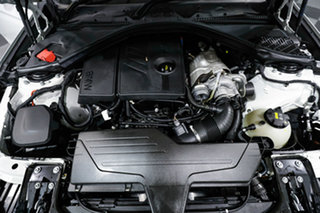 2015 BMW 3 Series F30 MY1114 316i M Sport White 8 Speed Automatic Sedan