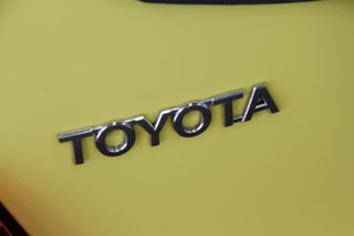 2015 Toyota Yaris NCP130R MY15 Ascent Vivid Yellow 4 Speed Automatic Hatchback