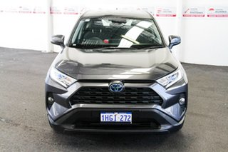 2019 Toyota RAV4 Axah52R GX (2WD) Hybrid Graphite Continuous Variable Wagon.