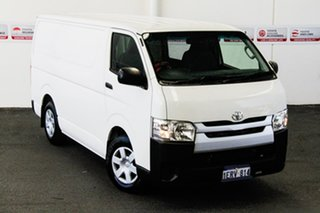 2014 Toyota HiAce TRH201R MY14 LWB French Vanilla 4 Speed Automatic Van.