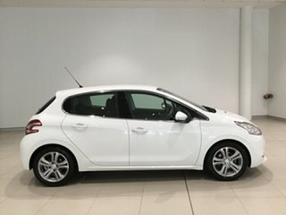 2012 Peugeot 208 A9 Allure White 4 Speed Automatic Hatchback.