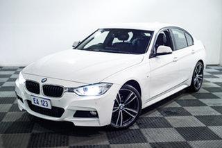 2015 BMW 3 Series F30 MY1114 316i M Sport White 8 Speed Automatic Sedan.