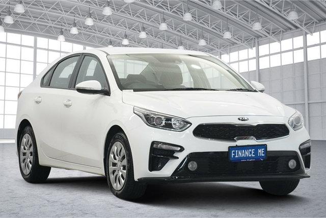 Used Kia Cerato BD MY19 S Victoria Park, 2019 Kia Cerato BD MY19 S White 6 Speed Sports Automatic Sedan