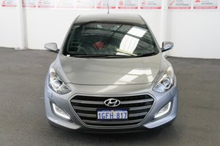 2017 Hyundai i30 GD5 Series 2 Upgrade SR Premium Silver 6 Speed Automatic Hatchback.