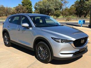 2020 Mazda CX-5 KF4WLA Touring SKYACTIV-Drive i-ACTIV AWD Sonic Silver 6 Speed Sports Automatic.