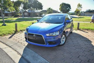 2014 Mitsubishi Lancer CJ MY14.5 ES Sport Blue 6 Speed Constant Variable Sedan