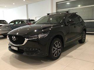 2017 Mazda CX-5 KF4WLA GT SKYACTIV-Drive i-ACTIV AWD Jet Black 6 Speed Sports Automatic Wagon