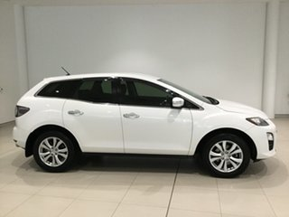2009 Mazda CX-7 ER10A2 Sports Crystal White Pearl 6 Speed Manual Wagon.