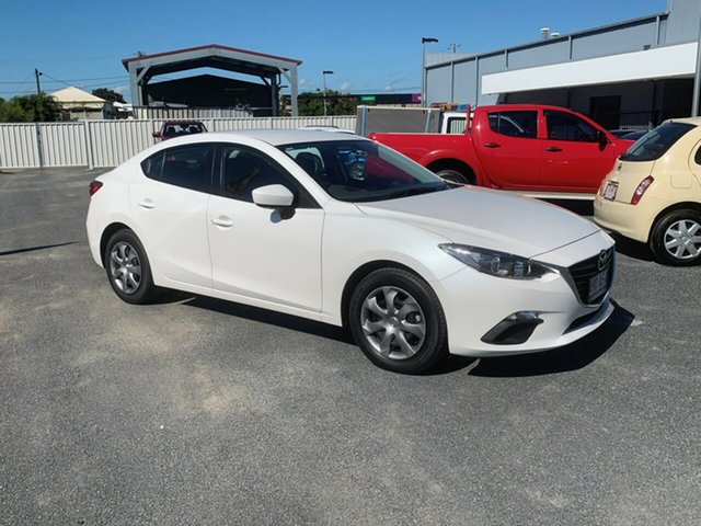 Used Mazda 3 BM5276 Neo SKYACTIV-MT North Rockhampton, 2014 Mazda 3 BM5276 Neo SKYACTIV-MT White 6 Speed Manual Sedan