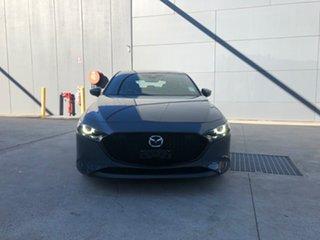 2021 Mazda 3 BP2HLA G25 SKYACTIV-Drive Astina Polymetal Grey 6 Speed Sports Automatic Hatchback.
