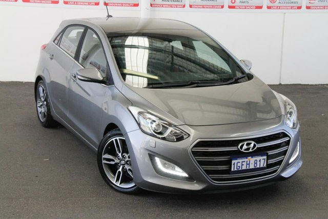 Pre-Owned Hyundai i30 GD5 Series 2 Upgrade SR Premium Myaree, 2017 Hyundai i30 GD5 Series 2 Upgrade SR Premium Silver 6 Speed Automatic Hatchback