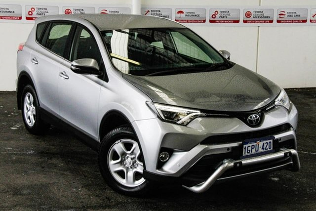 Pre-Owned Toyota RAV4 ZSA42R MY18 GX (2WD) Myaree, 2018 Toyota RAV4 ZSA42R MY18 GX (2WD) Silver Sky Continuous Variable Wagon