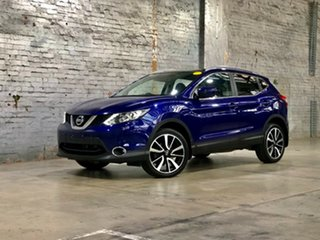 2017 Nissan Qashqai J11 TI Blue 1 Speed Constant Variable Wagon