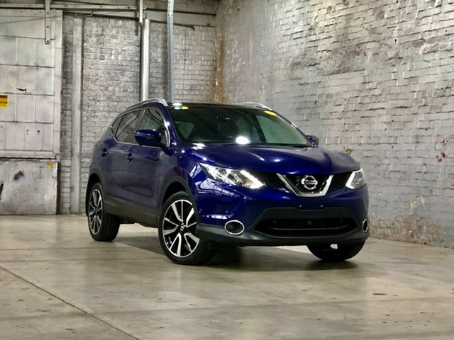Used Nissan Qashqai J11 TI Mile End South, 2017 Nissan Qashqai J11 TI Blue 1 Speed Constant Variable Wagon